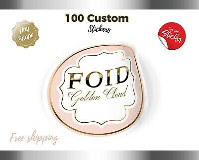 100 Custom Stickers High Quality Label Waterproof Stickers Logo Products Fashion Home Garden In 2020 Custom Stickers Custom Clear Stickers Custom Vinyl Stickers