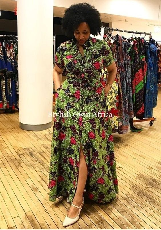 The Most Beautiful Ankara Gown Styles of 2018 | Stylish Gwin Africa