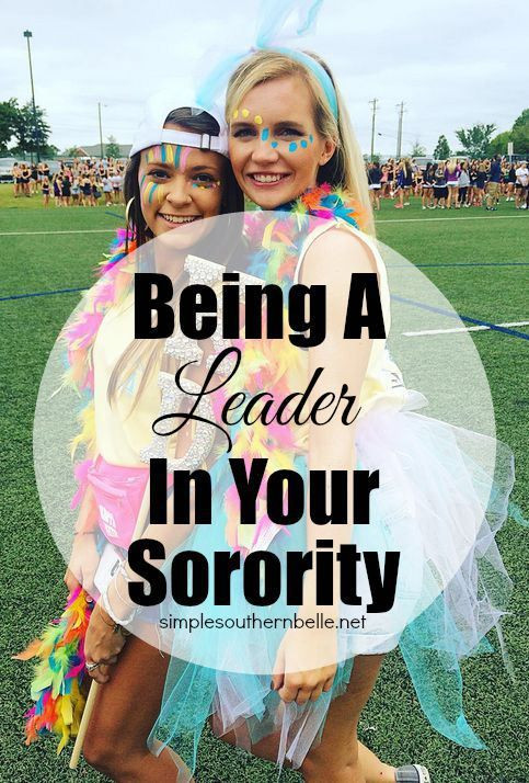 Being a Leader in Your Sorority: Things you should know, how to be one, and managing your time!  simplesouthernbelle.net