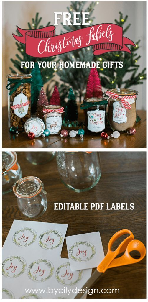 Make Your Creations Amazing With Printable Christmas Labels