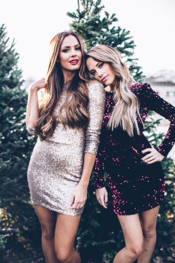 These new years eve sequin dresses are so cute, and cheap!