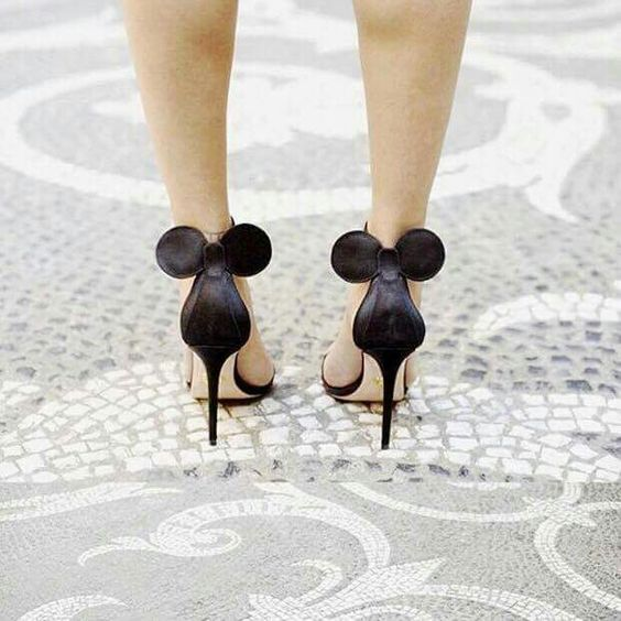 Looking for shoes to wear when you get married at Disney World? Call Destinations 24/7 Travel Services at 443-703-6600 to book your Disney trip today!: