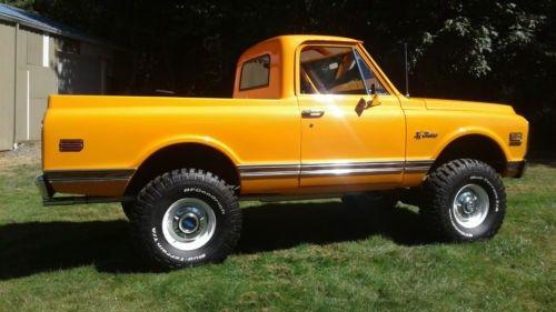 1972 K5 Blazer Cst Half Cab Conversion Chevy Trucks K5 Blazer