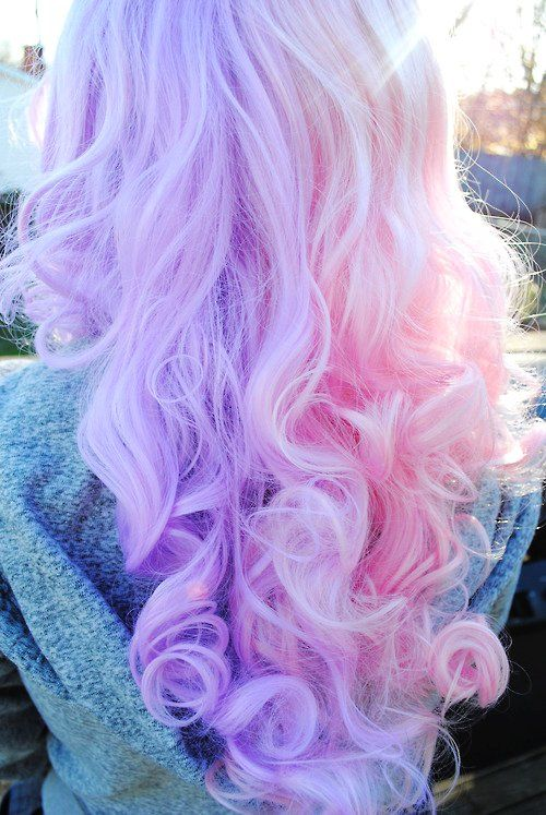 Baby Purple & Pink Hair #purple #pink #hair www.loveitsomuch.com