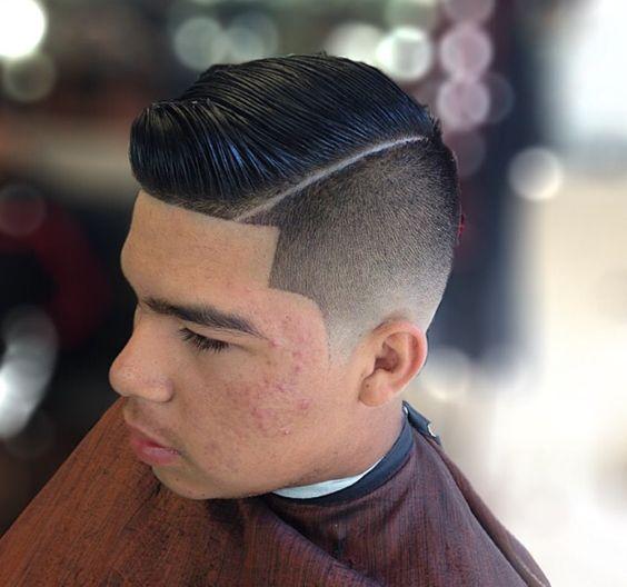 Skin fade haircut koko pinterest pelo cortes de - Peinados modernos de hombres ...