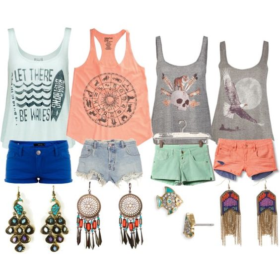 pastels, salmon and turquoise: Summer Fashion, Colored Shorts, Summer Style, Dream Closet, Spring Summer, Cute Summer Outfits, Cute Outfit, Perfect Summer