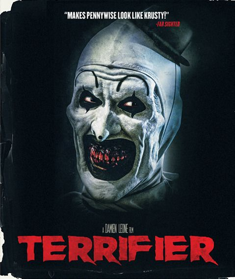Terrifier Blu Ray Dvd New Epic Pictures Region Free Indie Horror Art The Clown Scary Movie Characters Horror Movie Icons Horror Movie Posters