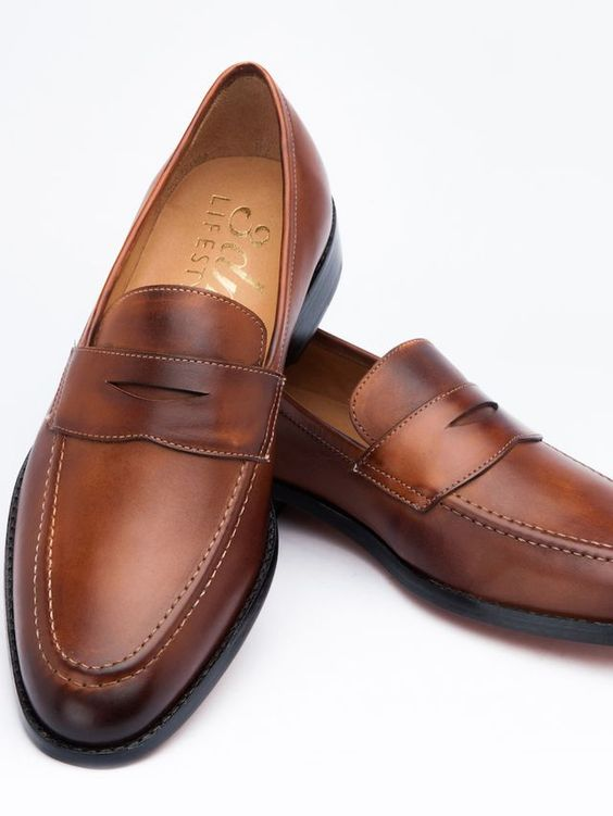 Penny Loafer - Brown