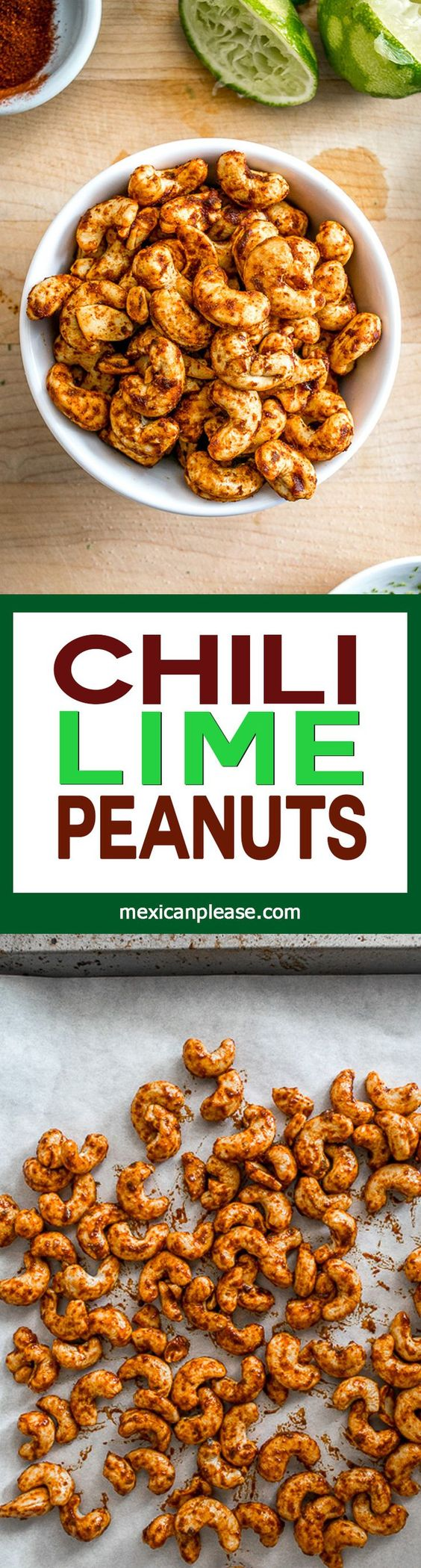 These Chili Lime Peanuts get a burst of Chili-Lime goodness from ...