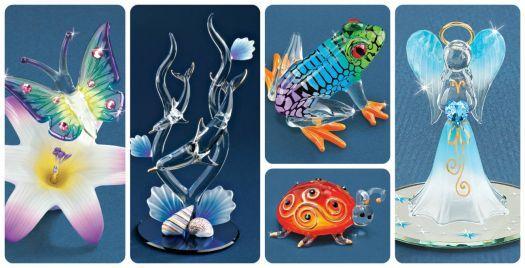 Glass Figurines (91 pieces)