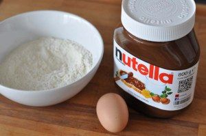 Die 3-Zutaten Nutella Kekse |