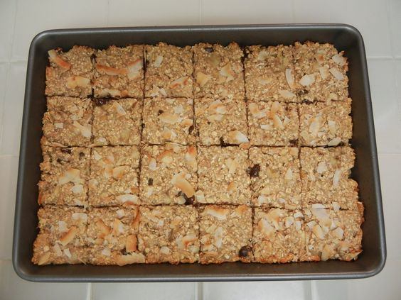 the world according to eggface - oatmeal cookie bars- Check out this site for amazing recipes for post weight loss surgery!  YUMMY!