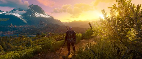 Sometimes... you just have to stop and appreciate the view [Witcher 3 6880x2880]