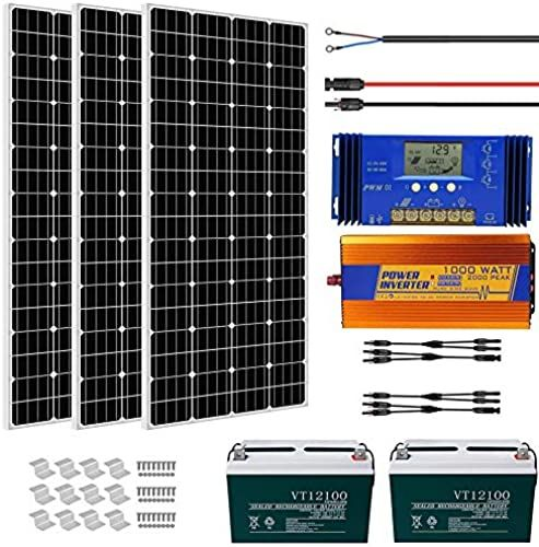 Buy Eco Worthy 600w Solar Panel Kit Complete Solar Power System Battery Inverter Home House Shed Farm Rv Boat 12 Volt Battery Online Topfashionoutfits In 2020 Solar Power System Solar Panel