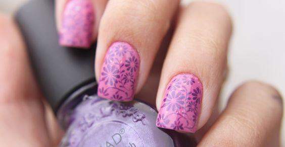 Floral nails nail nail art floral nails nail ideas nail designs
