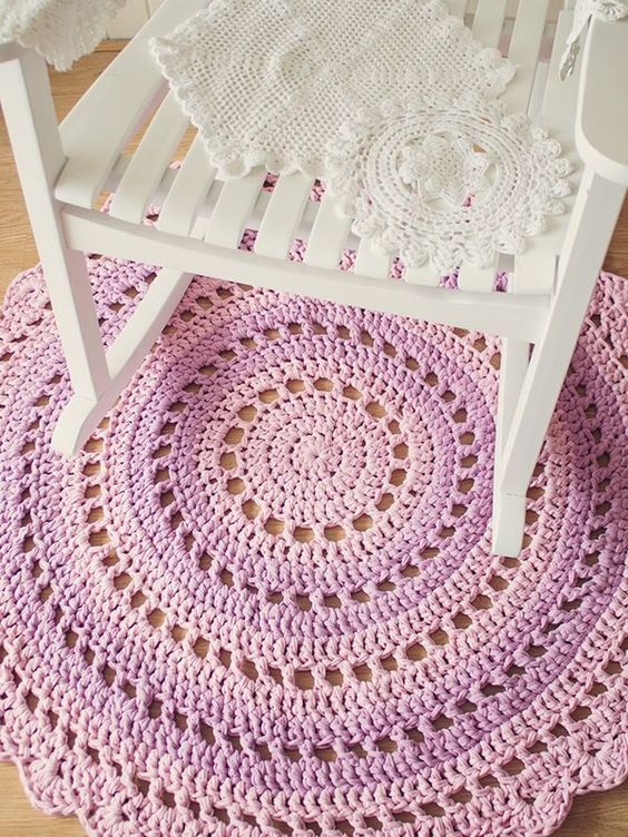 Free Crochet Rug Patterns Australia : Crochet Mandala Rug - Free Pattern! Crochet Pinterest ...