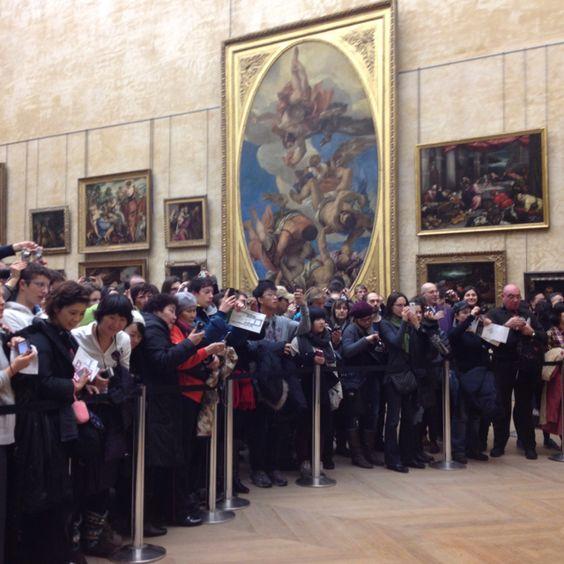 Paris Louvre Da Vinci Monalisa