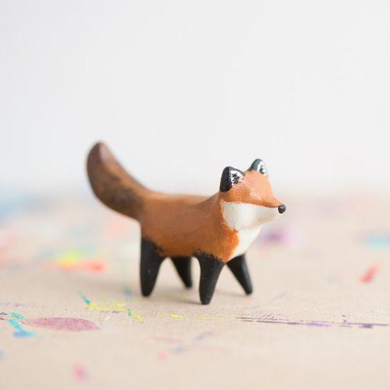 Le Coy Red Fox Totem - le animalé