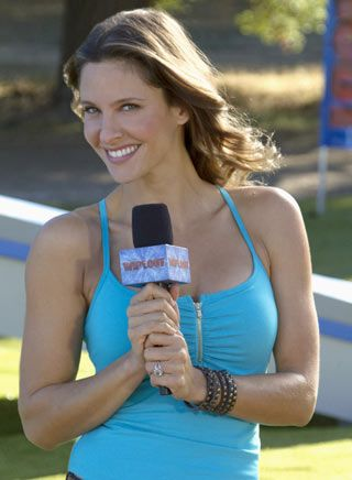 """""""I really had appreciation for the show and what we do. It makes me feel good when kids come up to me and say they love the show,"""" says """"Wipeout's"""" Jill Wagner. """"And also when I hear about kids who watch the show and are going through chemo or have issues, and the show makes them laugh."""""""