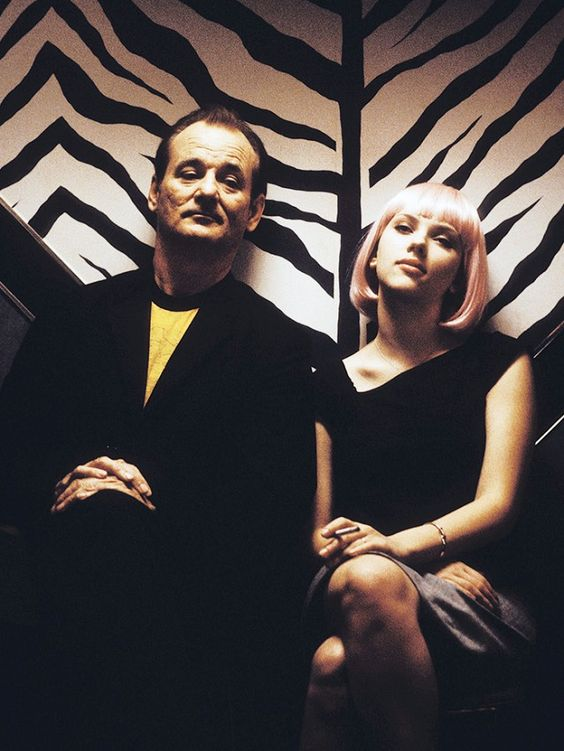Bob and Charlotte in 'Lost in Translation'