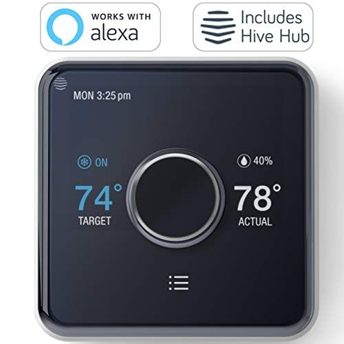 Hive Heating And Cooling Smart Thermostat Pack Thermostat Hive