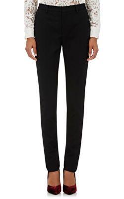 SAINT LAURENT Wool Slim Trousers. #saintlaurent #cloth #trousers