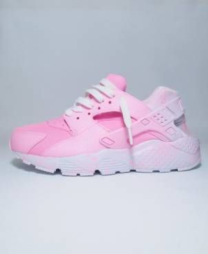 watch ba8ab ed315 Nike huarache custom Pink ...