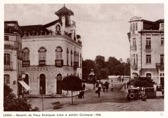 Leiria - Praça Rodrigues Lobo