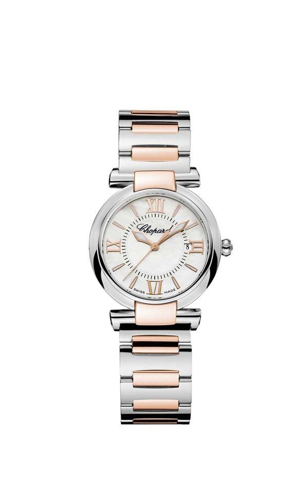 """Steel / rose gold """"Imperiale"""" watch model 388541-6002, Chopard"""