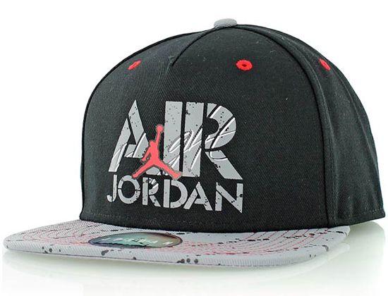 NIKE JORDAN (Nike Jordan) Cap Jumpman logo print Cap Hat AIR JORDAN STENCIL  SNAPBACK 0f1808eddf2