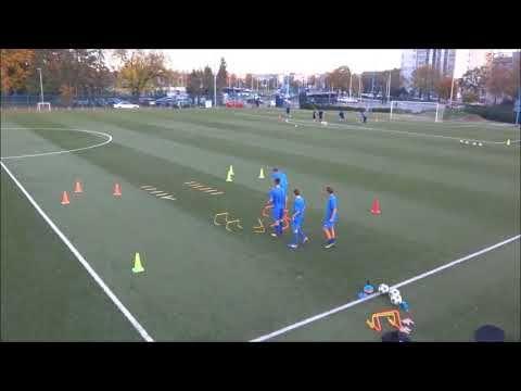 Endurance And Strength Training Dinamo Zagreb U15 Youtube Strength Training Soccer Drills Soccer Workouts