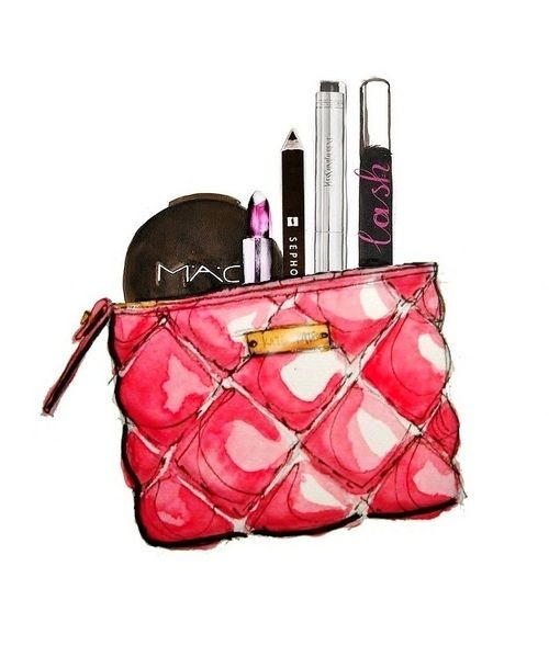 The gallery for --> Makeup Products Drawing