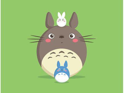 #Totoro #illustration #cute
