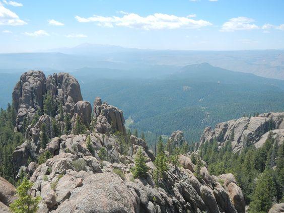 Hiking to the Devil's Head Fire Lookout near Castle Rock, CO