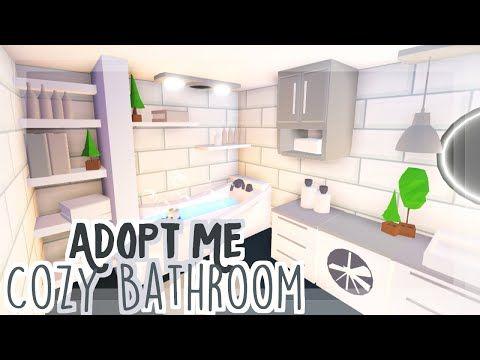 Cozy Neutral Bathroom Adopt Me Speedbuild Youtube My Home Design Futuristic Home Cute Room Ideas