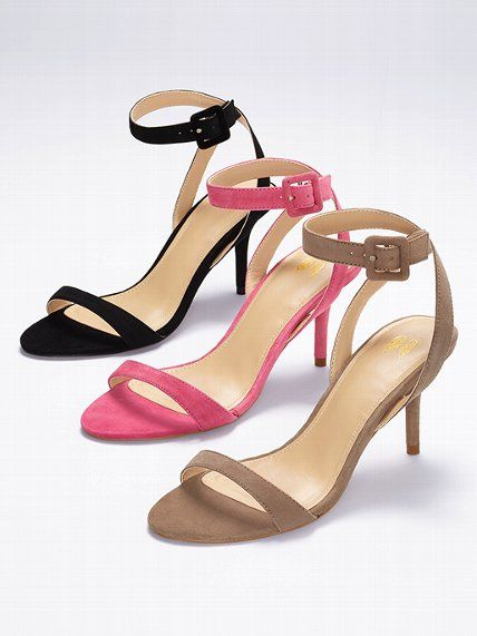 VS Collection NEW! Ankle-strap Mid-heel Sandal #VictoriasSecret ...