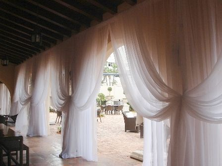 Pipe and drape-beautiful