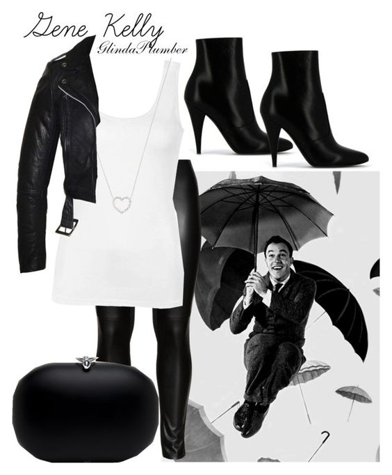 """""""Gene Kelly"""" by glindaplumber on Polyvore featuring Studio, Ally Fashion, Tiffany & Co. and Yves Saint Laurent"""