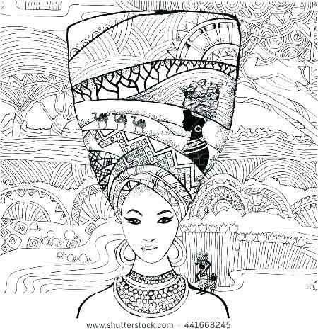 african american coloring books pages sheets fabulous woman ...
