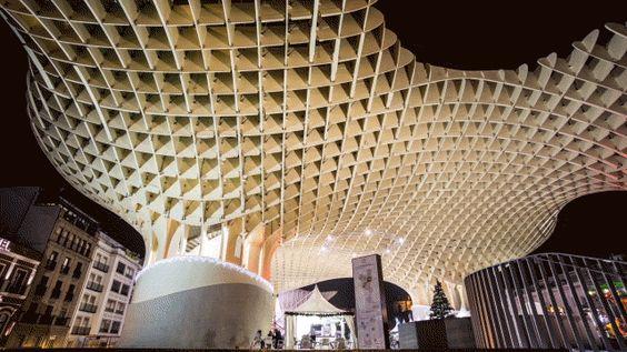 Metrosol Parasol Sevilla, España