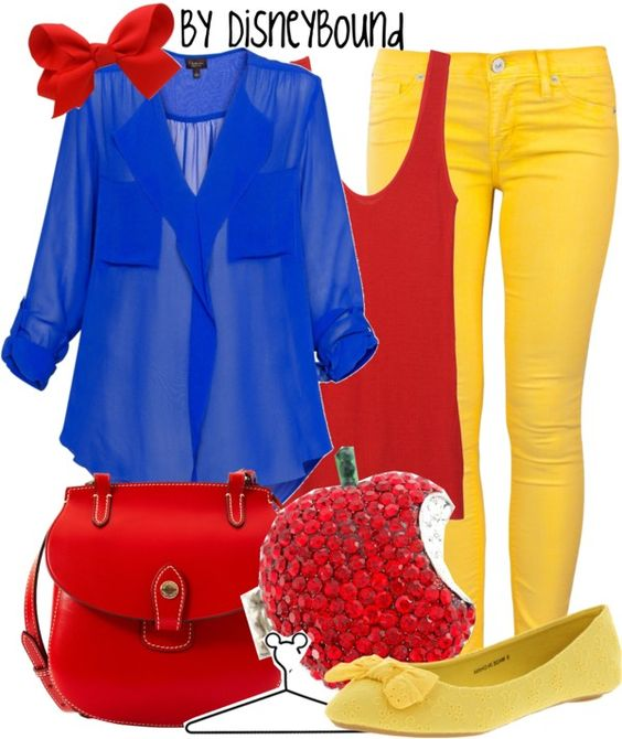 """Snow White"" by lalakay ❤ liked on Polyvore"