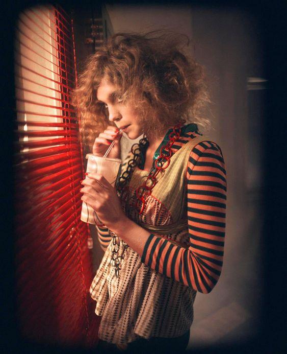 Natalia Vodianova by Glen Luchford.