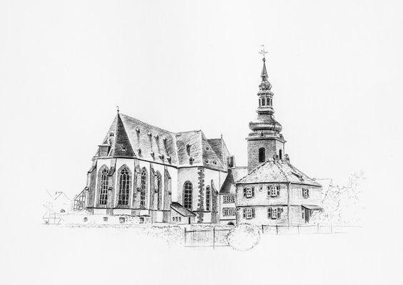 Vanessa Dippel: Architektur zeichnen