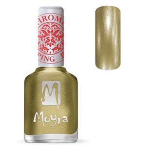 COMING SOON Moyra Stamping Nail Polish- No. 24 (Chrome Gold)