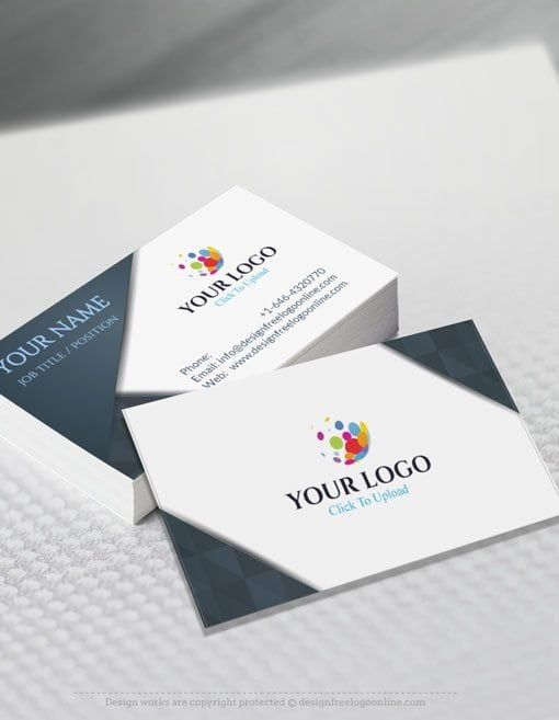 Create Your Own Business Cards With The Free Business Card Maker Free Business Card Maker Business Card Maker Free Business Card Templates