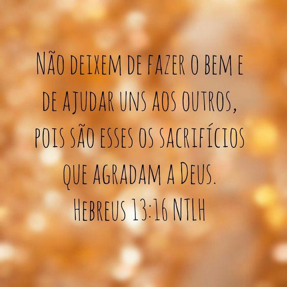 Hebreus 13:16