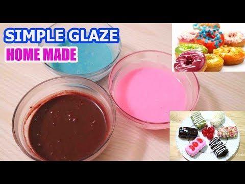 Resep Simple Glaze Homemade Topping Untuk Nugget Pisang Kue Donat Dll Youtube Makanan Resep Makanan Dan Minuman