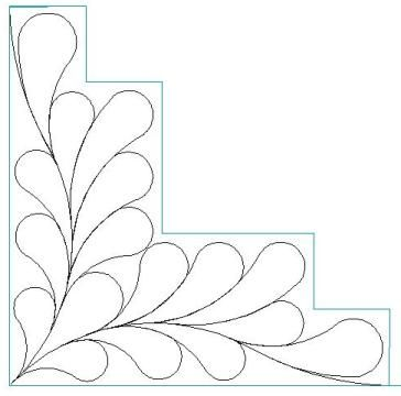 Log Cabin_Feathers_5 minus_p2p-L01131 - Click Image to Close