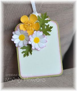 flowers tag, love how bright and springy this is