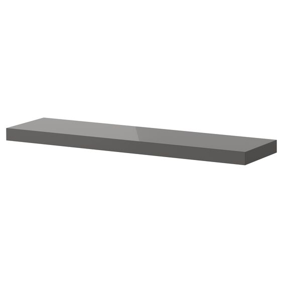 lack wall shelf high gloss gray ikea colorado office